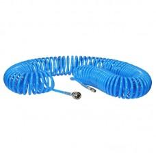 Шланг полиуретановый спиральный 20 м, ф 6/8 мм c быстросъемн. соед. SKIPER ШП-620