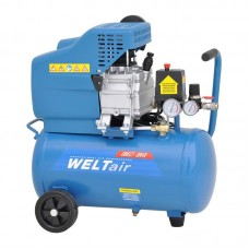 Воздушный компрессор WELT AR25LT (до 235 л/мин, 8 атм, 25 л, 220 В, 1.50 кВт)
