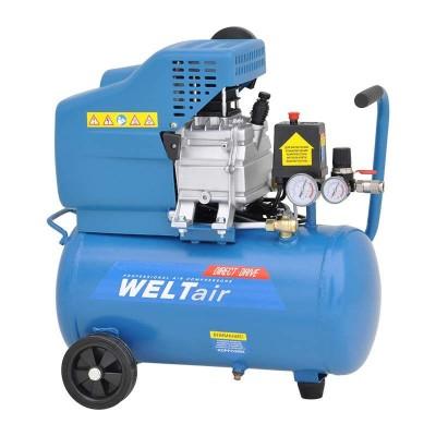 купить Воздушный компрессор WELT AR25LT (до 235 л/мин, 8 атм, 25 л, 220 В, 1.50 кВт)
