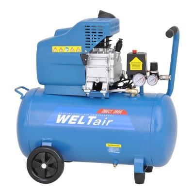 купить Воздушный компрессор WELT AR50LT(до 260 л/мин, 8 атм, 50 л, 220 В, 1.80 кВт)