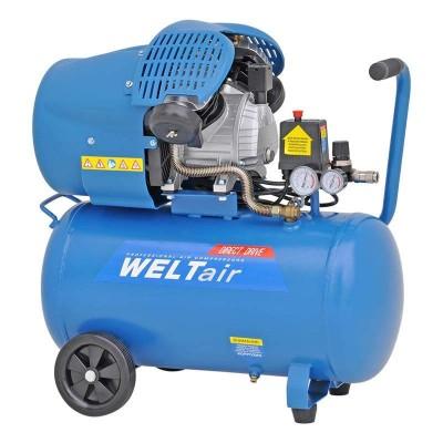 купить Воздушный компрессор WELT AR50VT (до 400 л/мин, 8 атм, 50 л, 220 В, 2.2 кВт)