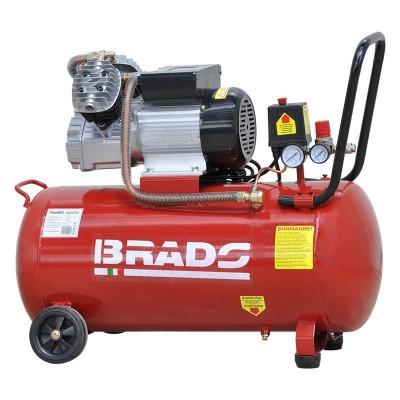 купить Воздушный компрессор Brado IBL2070V (до 400 л/мин, 8 атм, 70 л, 220 В, 2.2 кВт)