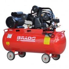 Воздушный компрессор BRADO IBL3100B (до 600 л/мин, 8 атм, 100 л, 380 В, 3.0 кВт)