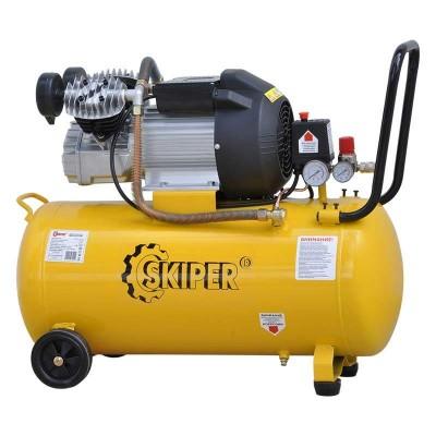 купить Воздушный компрессор SKIPER IBL2070V (до 400 л/мин, 8 атм, 70 л, 220 В, 2.2 кВт)