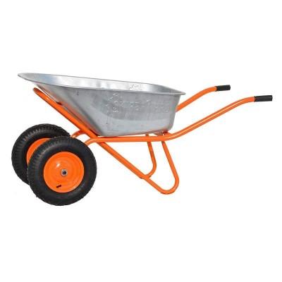 купить Тачка строительная SKIPER 2х130 expert PRO(до 130 л, до 350 кг, 2x4.00-8, пневмо)