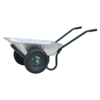 купить Тачка садовая SKIPER 2x85 FERMER (до 85л, до 150 кг, 2x3.25-8, пневмо)