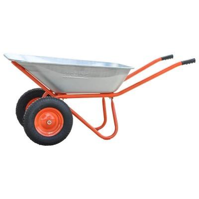 купить Тачка строительная BRADO PA-500 (до 160л, до 500 кг, 2 x 4.00-8, пневмо)