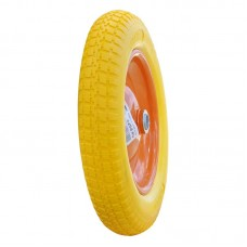 Колесо для тачки SKIPER 3.25-8 PU (16х80)