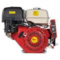 Двигатель бензиновый SKIPER 190 FE для культиваторов (электростартер) (вал шлиц. ф25мм х40мм)