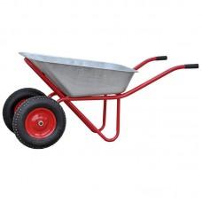 Тачка SKIPER 2х120 profi PRO (до 120 л, до 320 кг, 2x4.00-8, пневмо)