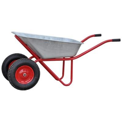 купить Тачка 2х120 profi PRO(до 120 л, до 320 кг, 2x4.00-8, пневмо)